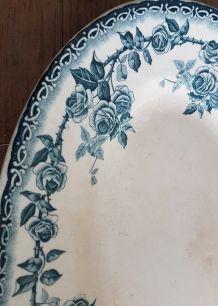 Ancien plats porcelaine