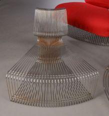 Ensemble fauteuil et table pantonova