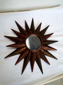 miroir soleil 1960  vintage
