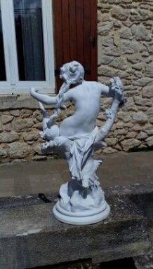 Statue ancienne par Luca Madrassi