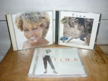 Lot de 3 CD de Tina Turner