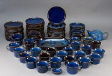Service à thé et café Bleu