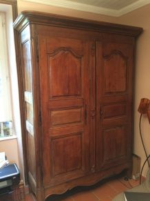armoire normande en chêne
