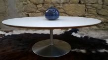 Table design circle de Pierre Paulin circa 1960