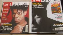 Collection complète magazine: ART-ACTUEL du numéro 1 au numé