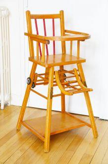 Chaise haute Baumann années 50