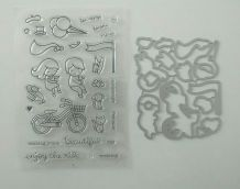 Tampons et matrices pour scrapbooking