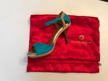 Sandales Carmen Steffens turquoise
