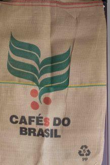 sac en toile au motif sympa café brésil