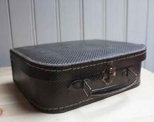 valisette de couture vintage cuir