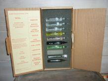 Boîte d'échantillons de produits pétroliers