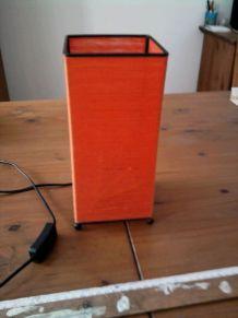 Lampe rétro orange