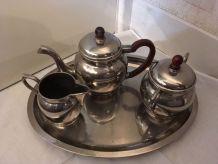 Service à thé ou café métal
