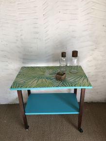 Table à roulettes