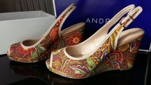 Sandales compensées Julietta ANDRE