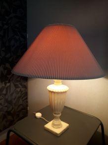 lampe   en  albatre 70s
