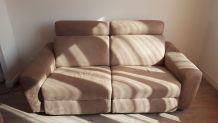 Canapé+fauteuil relax électrique
