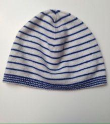Bonnet laine rayé taille 45 cm Bout'chou