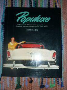 Livre rare sur le Populuxe par Thomas Hine (1986)