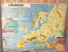 Carte scolaire L'EUROPE
