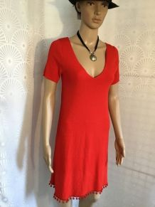 Robe rouge asos neuve