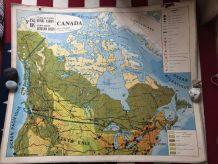 Carte scolaire Canada