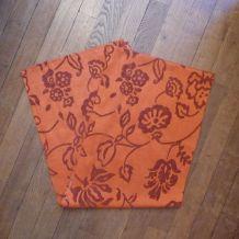 Chemin De Table Rectangulaire 45*250cm 55% Viscose Orange