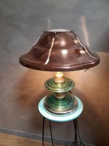 lampe cuivre 1940 original