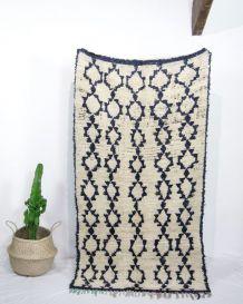 tapis berb re tapis vintage ethnique d 39 occasion luckyfind. Black Bedroom Furniture Sets. Home Design Ideas