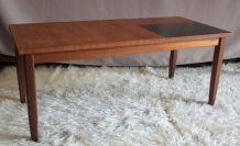 Table basse scandinave en Teck