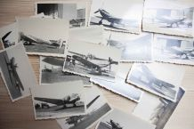 lot 16 photos argentiques avions