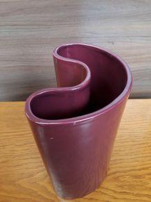 vase pourpre style 70s
