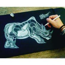 Dessin Rhinocéros