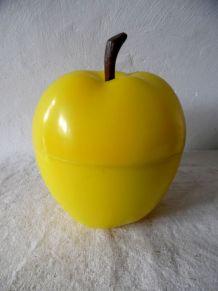 pomme jaune  vintage