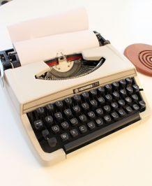 Machine à écrire vintage Hermes L 72