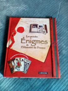 livre les grande énigmes de l'histoire de france