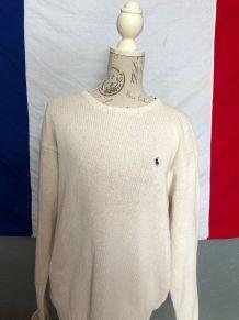 Pull Ralph Lauren - Mixte (100% coton)