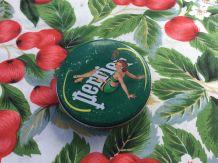 Boîte de 4 Sous verres vintage de la marque Perrier