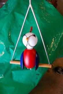 suspension perroquet pour chambre d 'enfant