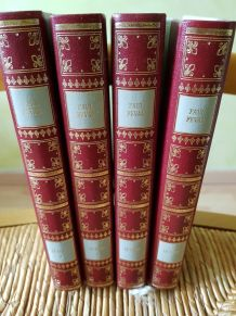 livres reliés du Bossu