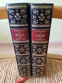 2 livres reliés Honoré de Balzac