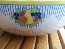 Boch la louvière- saladier - art déco- vintage