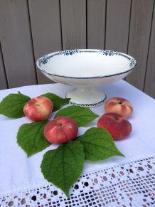 Compotier, coupe à fruits, Salins Terre de Fer