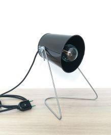 Lampe de bureau articulée en acier et métal