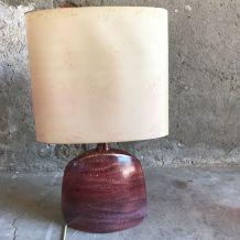 Lampe en céramique signée roset