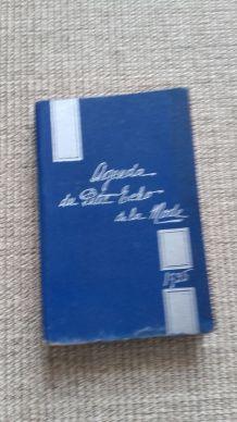AGENDA PETIT ECHO DE LA MODE 1935