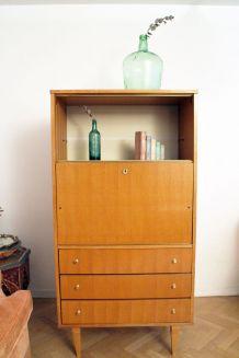 Secrétaire vintage style scandinave des années 60