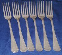 Fourchette en métal argent