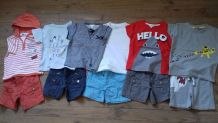 lot 6 t-shirt+ 5 short. t: 3 ans