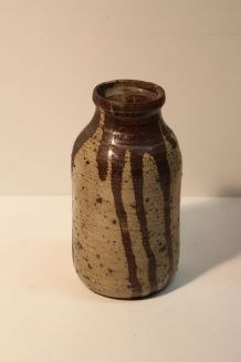 Vase en grès émaillé